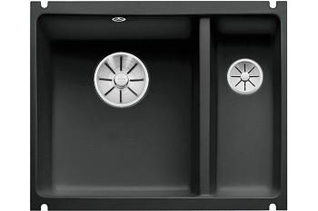 Мойка из кер. BLANCO SUBLINE 350/150-U черная