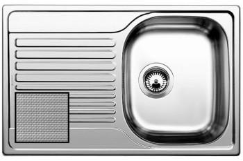 Мойка из нерж. стали BLANCO TIPO 45 S Compact декор (207833+214381-1)