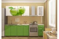 Кухонный гарнитур с ярким фасадом