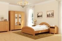 Спальня кремового цвета