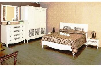 Белоснежная мебель для спальни