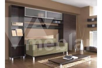 Горка-стенка с диваном и столиком