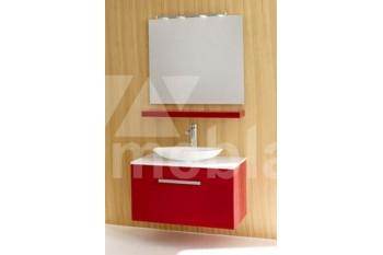 Красный набор для ванной