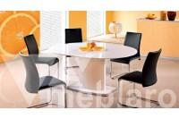 Обеденный стол со Federico, стулья Emilio