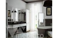 Белый набор мебели для ванной