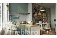П-образная мини-кухня