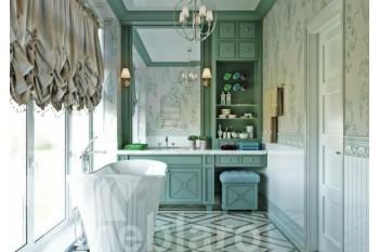 Стеллаж-стенка для ванной
